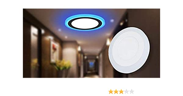 Koinor Eetbank Bottom.16w 12 4 Led Side Blue Round Ceiling Pop Panel Light 3d Effect Lighting Double Color Pack Of 10