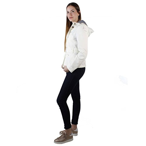 Geox W6220E T0351 Giacca Donna Bianco