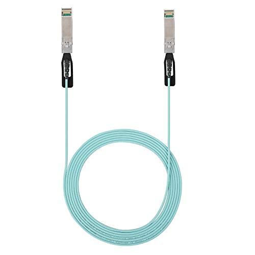 Mugast SFP28 25G AOC3M SFF-8402 zu SFF-8402 Kabel, 9,8 ft Einkanal 25 Gbit/s Hochgeschwindigkeits-Glasfaserkabel für VR, Rechenzentren, Server, Hochgeschwindigkeits-Netzwerkkarten, usw -