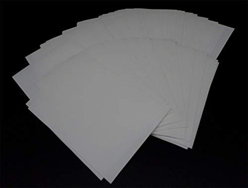 docsmagic.de 60 Mat White Card Sleeves Small Size 62 x 89 - Yu-Gi-Oh! Cardfight - Mini Kartenhüllen Weiss (Vanguard-karten)