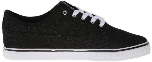 Osiris Mens Caswell Vlc Negro Skate Shoes (schwarz)