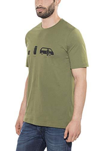 Black Diamond Dirtbag - T-shirt manches courtes - olive Modèle XL 2017 tshirt manches courtes