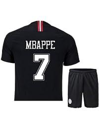 Black Adult Football Stadium Jersey, Football Star Jersey Séptimo Décimo Traje De Uniforme De Fútbol