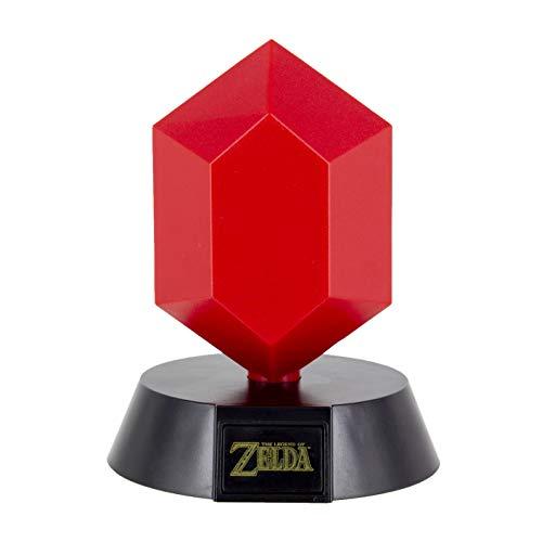 Paladone Lámpara 3D Icon Red Rupee 10 cm. Legend