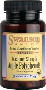 Swanson Ultra Maximum Strength Apple Polyphenols 125mg, 60 Capsules by Swanson Health Products