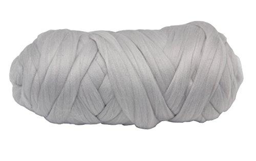 Von Kostüm Schatten Grau 50 (floraknit Arm Knit klobigen Garn Merino 21Micro Faser 5cm Starke 1.1lbs 14.4lbs kg maximal, grau, 4.4LBS)