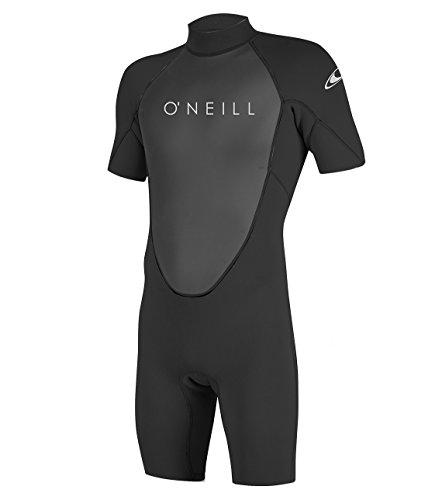 O'Neill Reactor II 2mm Back Zip Spring Traje húmedo, Hombre, Negro, Large