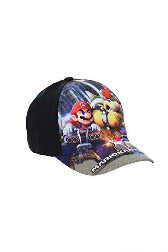 Preisvergleich Produktbild Super Mario Kart 8 Cappy Gr. 54 schwarz