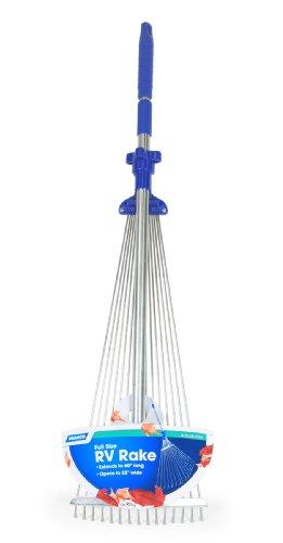Preisvergleich Produktbild Camco 42171 Rechen mit Teleskopstiel