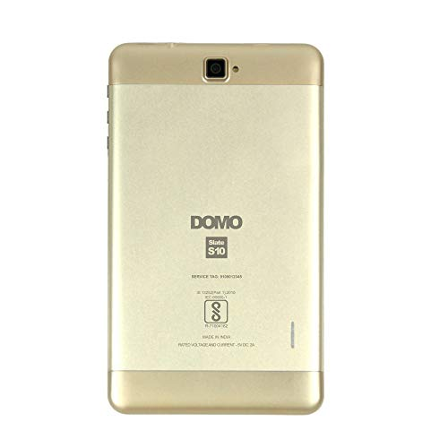 Domo Slate S10 Tablet (16GB, 7 inches, 4G) Gold, 2GB RAM Price in India