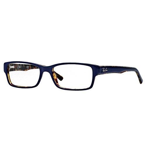 Ray-Ban Unisex-Erwachsene Rayban RX5169 5219 52-16 Sonnenbrille, Blau, 52