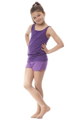 Silky Mädchen Tanz-Strumpfhose mit Schimmer-Effekt (7-9 Jahre) (Toast) (Strumpfhose Mädchen Tanz)