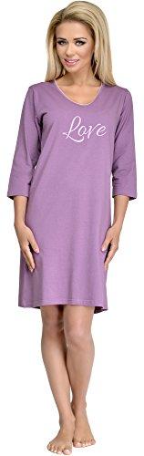Merry Style Chemise de Nuit Femme 1029 Violet