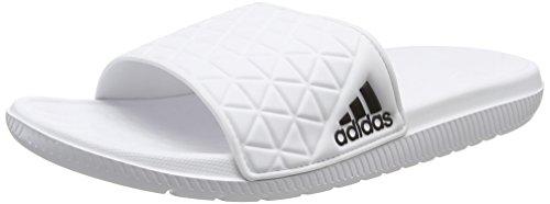 Adidas aq5911, pantofole estive uomo, bianco (ftwbla/negbas/ftwbla), 43 eu
