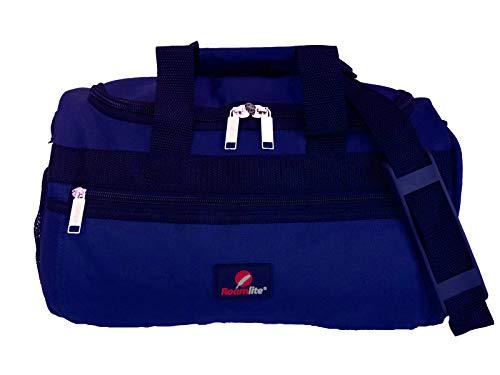 Kleine Reisetasche - Ryanair Zweites Handgepäck Tasche - Exakte Größe 35 x 20 x 20 cm - Blaue Kabinentasche Bordgepäck - Ultra Leichte 0,4 Kg - BLINDER PASSAGIER Handgepäcktasche für Ryan Air RL59N