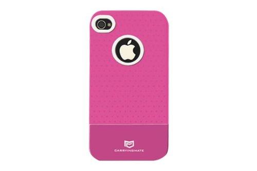 Carryingmate Industries USA Micro Grip Schutzhülle für iPhone 4 / 4S, 1 Stück, Rose Iphone Micro Grip