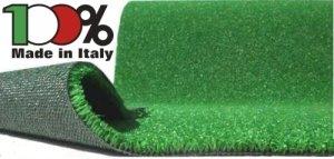Manto/Prato sintetico/Tappeto in erba sintetica 2 x 10m
