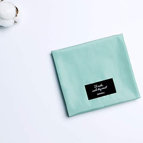 Reisebrieftasche, Veranstalter-Reisepass für Ausweise, Kreditkarten, Flugtickets, Geld und anderes Reisezubehör Menstruationsaufbewahrungstasche, Blau - First Safety Bag