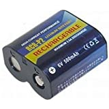 NX - Batterie photo R-CRP2 rechargeable 6V 450mAh - CR-2P ; CR2P ; 223