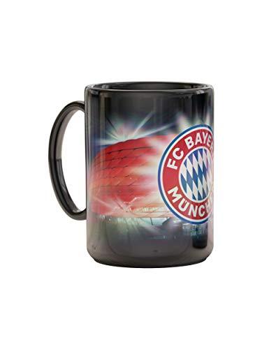 FC Bayern München Tasse Arena, Kaffee-Becher, Metallic-Optik