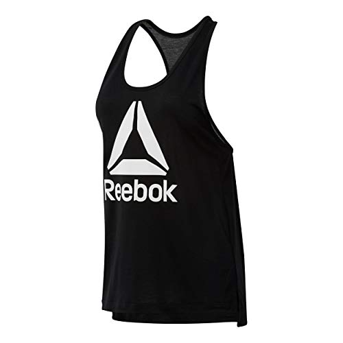 d9e482f8f Reebok logo sport tanks tops the best Amazon price in SaveMoney.es