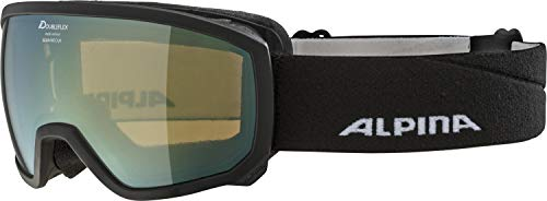 ALPINA Kinder Scarabeo MM Skibrille, Black, One Size