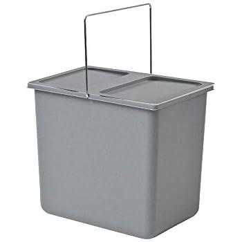 Hailo Inneneimer Kunststoff grau 2,5 L Abfallsammler Mülleimer Mistkübel Einsatz