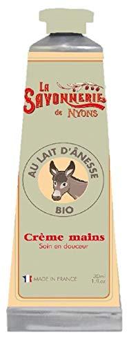 La Savonnerie de Nyons Bio Esel 's Milch Hand Creme 30ml, Multi/Farbe, eine Größe -