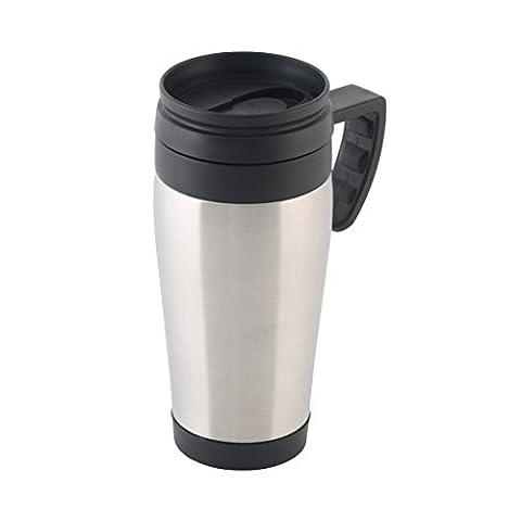 Axentia 128009 Mug Isotherme Acier 12 x 8 x 18,5 cm