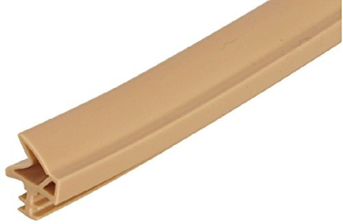 Gedotec Türanschlagdichtung 25 Meter Türdichtung Zimmertür S 6577a für Holzzargen | Türzargen-Dichtung dunkelbraun | Falzbreite: 12 mm | Kunststoff TPE weich PVC | Baubeschläge von GedoTec®