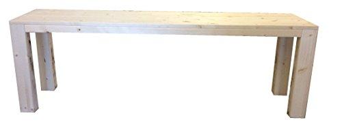 Banco madera jardín interior exterior 100x38.5x50H