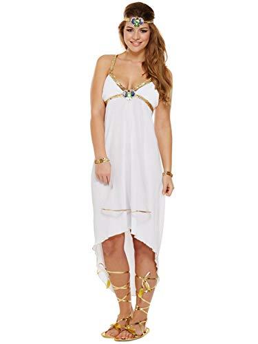 Best Dressed Dress UP Fancy Dress Adult ÄGYPTISCHE Prinzessin Cleopatra GROBE 36-38