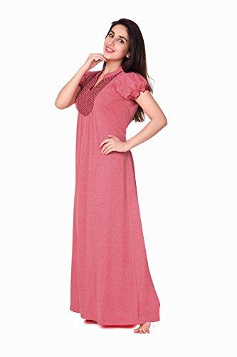 Honeydew Womens Cotton Nightwear ,Brown ,Free Size