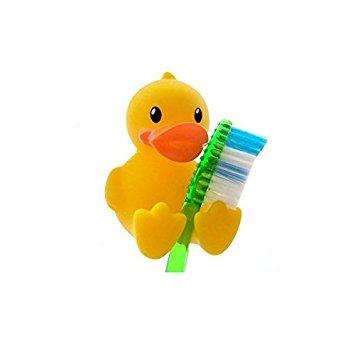 nalmatoionme Cute Badezimmer Werkzeug Gelb Ente Zahnbürstenhalter Ständer