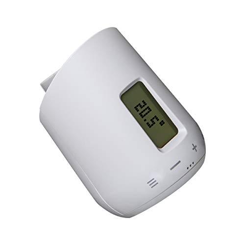 Eurotronic GENIUS LCD 100 - smartes Heizkörperthermostat mit LCD-Anzeige passend für alle gängigen Heizkörperventile, leichtes Einstellen des Thermostats mit der gratis App