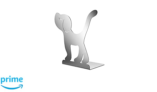 Silver 21.5 x 11 x 22.5 cm A di Alessi Bookstand in 18//10 Stainless Steel Mirror Polished
