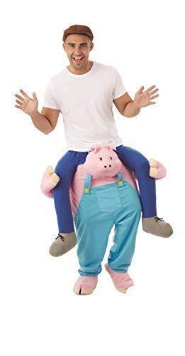 Halter Stall Kostüm - Damen Herren Halter Me Up Schritt darauf Reiten Schwein Tier Stall Garten Kinderzimmer Reim Kostüm Kleid Outfit