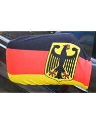 Aussenspiegelverkleidung Deutschland mit Adler
