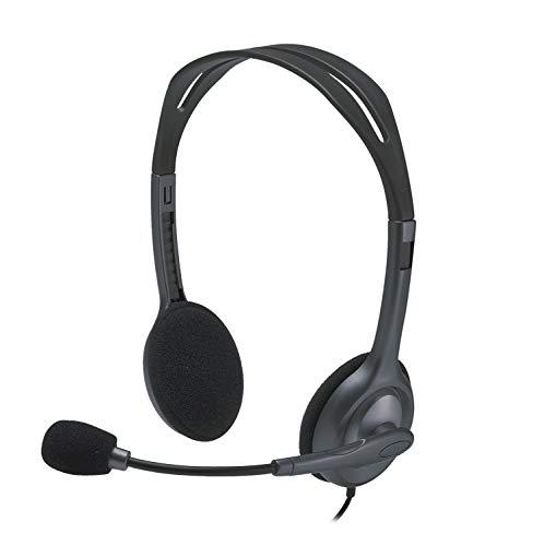 Logitech H111 Stereo-Headset schwarz