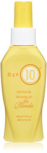It's a 10 Blonde Miracle Leave in Treatment, 120ml - Haarpflege Kur für blonde Haare