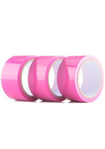 Ouch! - Bondage Tape - rosa -  20 m lang - 5 cm breit (3 x 1 Stück)