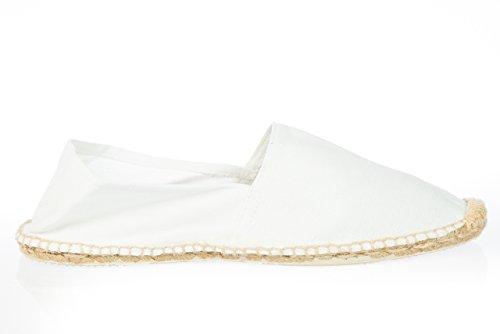 Espadrilles de plage/chaussons Blanc - Blanc
