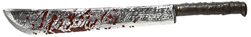 Bloody Machete 75 Cm novedad Arma y Armadura de accesorios para Halloween Fancy Dress Up Disfraces y Trajes