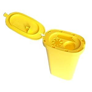 Safebox Entsorgungsbox Kanülen Abwurfbehälter, Kanülenabwurfbehälter, Kanülenbox extra verstärkt
