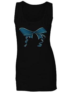 Nuevo Lazo De La Cinta Del Aniversario camiseta sin mangas mujer h706ft