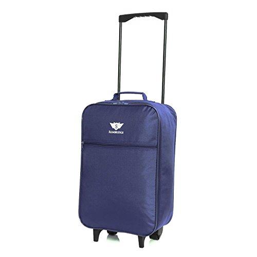 Slimbridge Barcelona bagaglio leggero a mano, Blu Scuro