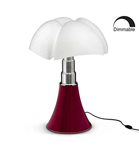 PIPISTRELLO - Lampada a LED con base telescopica H66-86 cm - Lampada da tavolo Martinelli Luce designata da Gae Aulenti