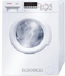 Bosch WAB20261II freestanding Front-load 6kg 1000RPM A+++ White washing machine - washing machines (freestanding, Front-load, A+++, A, C, White)