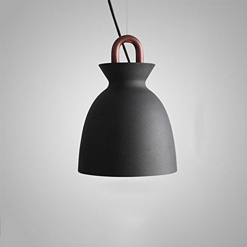 Hines Moderne Einfache 1-Licht Eisen Einstellbare hängende Pendelleuchte Postmodern Kreativität Seltsame Starke Küche Restaurant Schlafzimmer Nachttischlampe Kronleuchter Deckenleuchte Mit Atmung Loch - Eisen Band 1 Licht