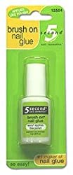 5 Second Brush On Nail Glue .2 Fl Oz (6 G)